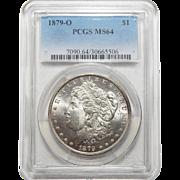 1879-O Pcgs MS64 Morgan Dollar