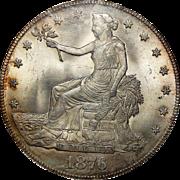 1876 Ngc MS65 Trade Dollar