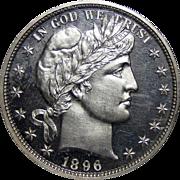 1896 Ngc PF66CAM Barber Half Dollar