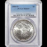 1884-O Pcgs MS64+ Morgan Dollar