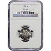 1909 Ngc PF68 Liberty Nickel