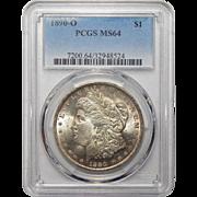 1890-O Pcgs MS64 Morgan Dollar