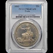 1882 Pcgs PR64CAM Trade Dollar