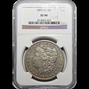 1893-CC Ngc XF40 Morgan Dollar