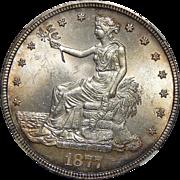 1877-S Ngc MS65 Trade Dollar