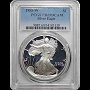 1995-W Pcgs PR69DCAM Silver Eagle
