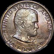 1922 Ngc/Cac MS65 Grant Half Dollar