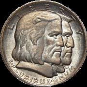 1936 Ngc MS64 Long Island Half Dollar