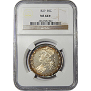 1829 Ngc MS66★ Capped Bust Half Dollar