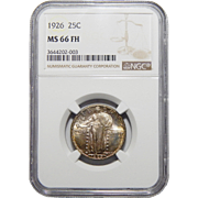 1926 Ngc MS66FH Standing Liberty Quarter