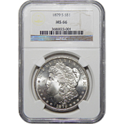 1879-S Ngc MS66 Morgan Dollar