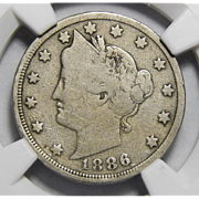 1886 Ngc G6 Liberty Nickel