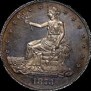 1873 Ngc PR63CAM PQ! Trade Dollar