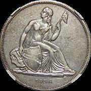 1836 Ngc PR45 $1 J-60 Restrike