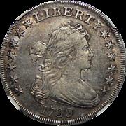 1799 Ngc XF45 Draped Bust Dollar