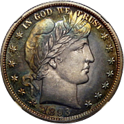1893 Ngc PF67 Barber Half Dollar
