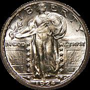 1924-S Ngc MS66 Standing Liberty Quarter