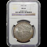 1903 Ngc MS64 Morgan Dollar