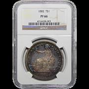 1882 Ngc PF66 Trade Dollar