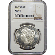 1879-CC Ngc MS65 Morgan Dollar