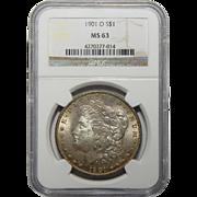 1901-O Ngc MS63 Morgan Dollar