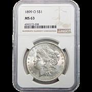 1899-O Ngc MS63 Morgan Dollar