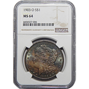 1903-O Ngc MS64 Morgan Dollar