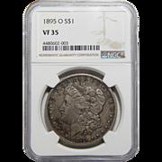1895-O Ngc VF35 Morgan Dollar