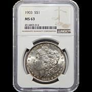 1903 Ngc MS63 Morgan Dollar