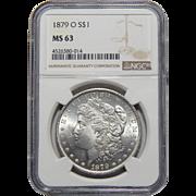 1879-O Ngc MS63 Morgan Dollar