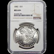 1882 Ngc MS64+ Morgan Dollar