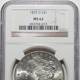 1879-O Ngc MS62 Morgan Dollar