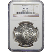 1879-O Ngc MS62 Morgan Dollar