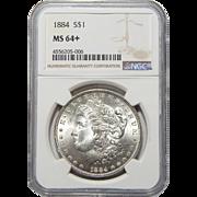 1884 Ngc MS64+ Morgan Dollar