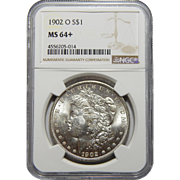 1902-O Ngc MS64+ Morgan Dollar