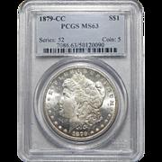 1879-CC Pcgs MS63 Morgan Dollar