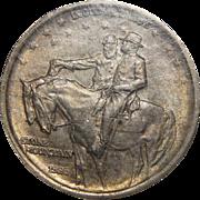 1925 Ngc MS64 Stone Mountain Half Dollar