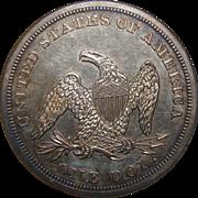 1877 Ngc MS61 Trade Dollar