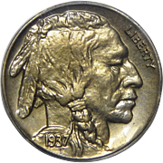 1937 Pcgs PR65 Buffalo Nickel