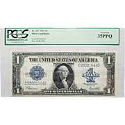 1923 Pcgs 35PPQ $1 Silver Certificate Fr. 237