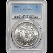 1879 Pcgs MS65 Morgan Dollar