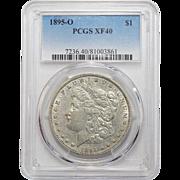 1895-O Pcgs XF40 Morgan Dollar