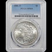 1880-O Pcgs MS64 Morgan Dollar
