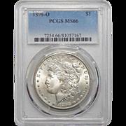 1898-O Pcgs MS66 Morgan Dollar