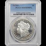 1879-S Pcgs MS65DMPL Morgan Dollar