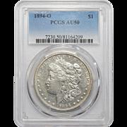 1894-O Pcgs AU50 Morgan Dollar