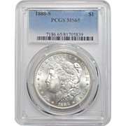 1888-S Pcgs MS65 Morgan Dollar