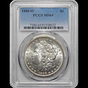 1888-O Pcgs MS64 Morgan Dollar