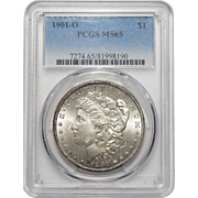 1901-O Pcgs MS65 Morgan Dollar