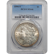 1898-S Pcgs MS66 Morgan Dollar